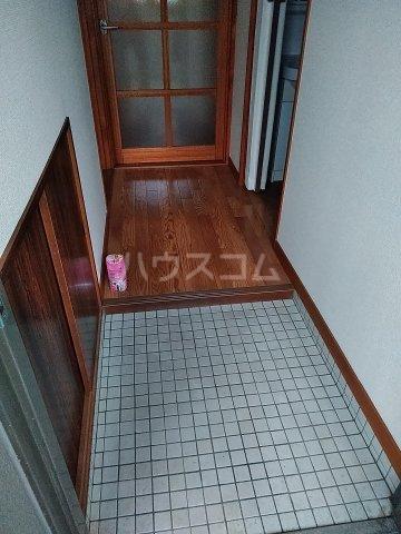 パークサイドハイムⅠ 203号室の玄関
