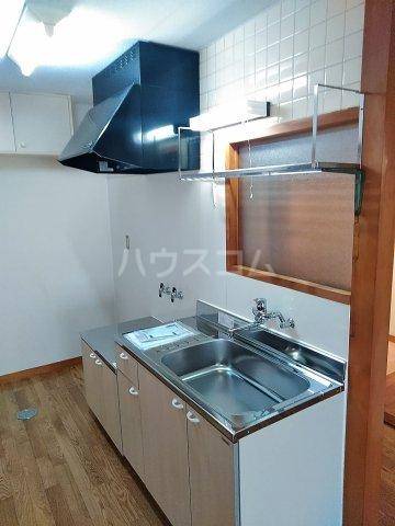 パークサイドハイムⅠ 203号室のキッチン