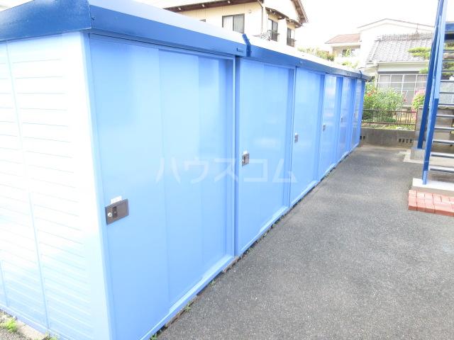レスカール二本松 106号室の収納
