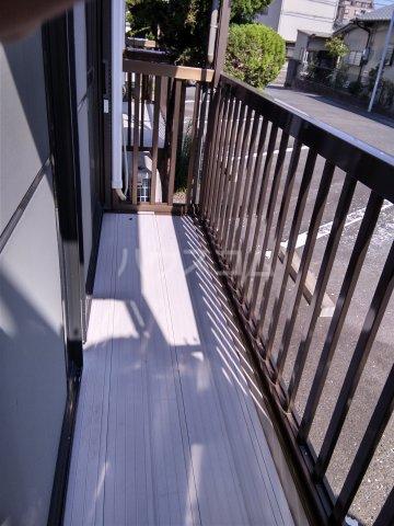 レスカール二本松 106号室のベッドルーム