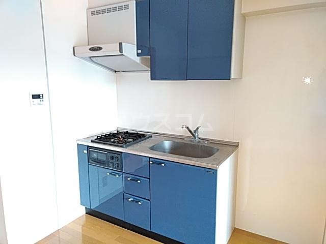 グラシア武蔵中原 504号室のキッチン