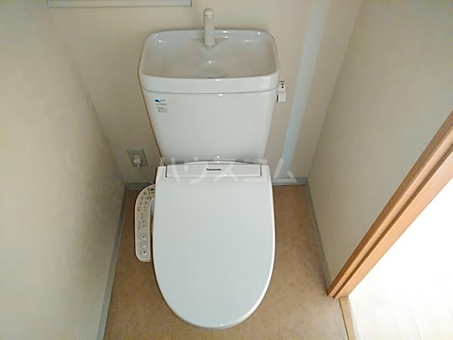 グラシア武蔵中原 504号室のトイレ