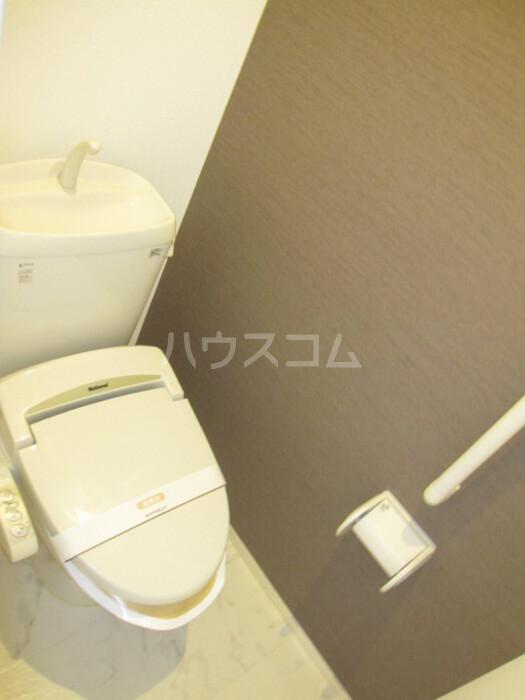 Blanc Village B 201号室のトイレ
