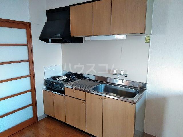 ヴィレッジ杉田C 511号室のキッチン