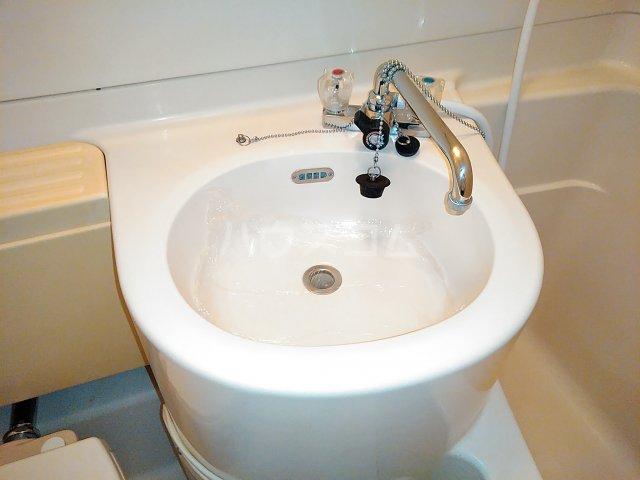 ハイシティ南松山 403号室の洗面所