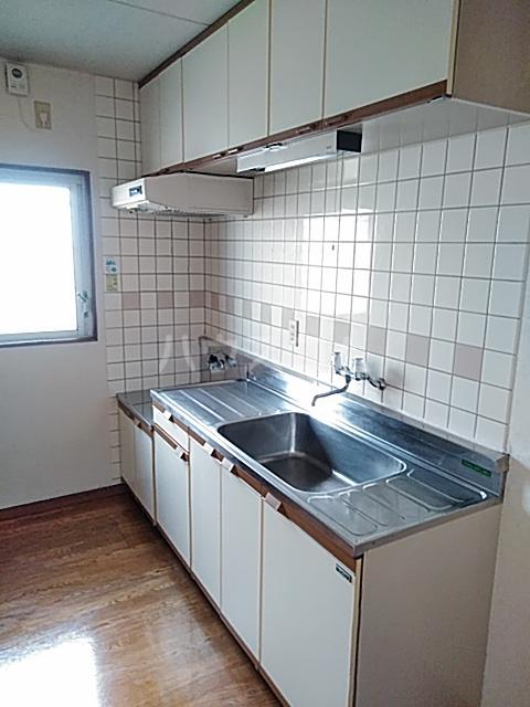 アビタ・テラ 205号室のキッチン