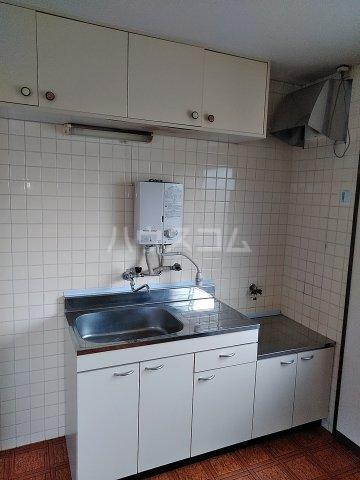 ハイツ明和 A 102号室のキッチン