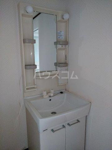ハイツ明和 A 102号室の洗面所