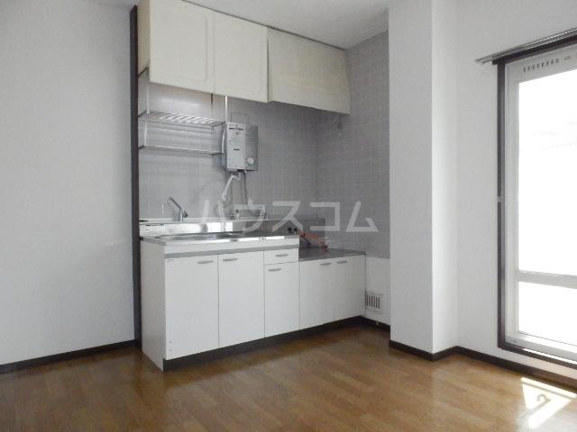 グリーンハイツⅠ 101号室のキッチン