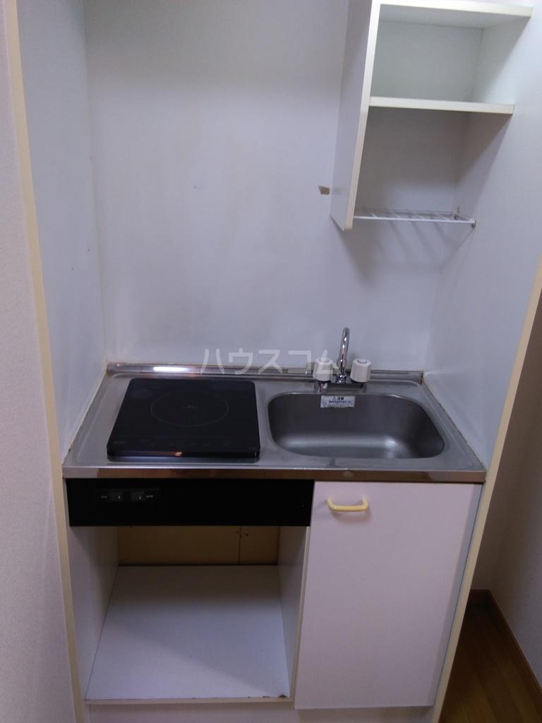 フィールドM 201号室のキッチン
