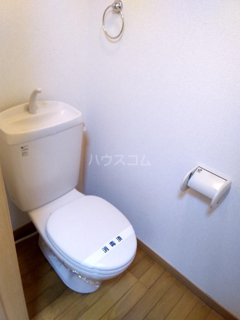 フィールドM 201号室のトイレ