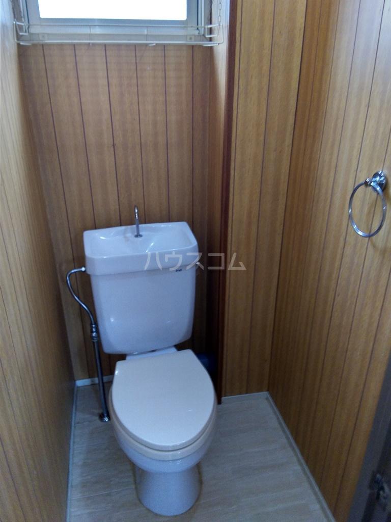 塩田ハイツG 203号室のトイレ