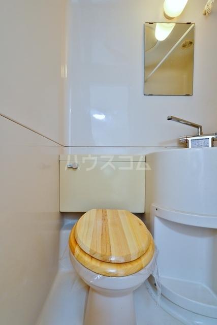 コスモ中浜 701号室のトイレ