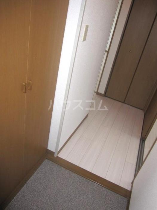 ラ・フィーネ曙 D 202号室の玄関