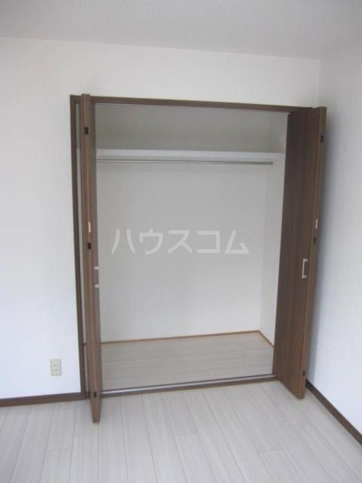 ラ・フィーネ曙 D 202号室の収納