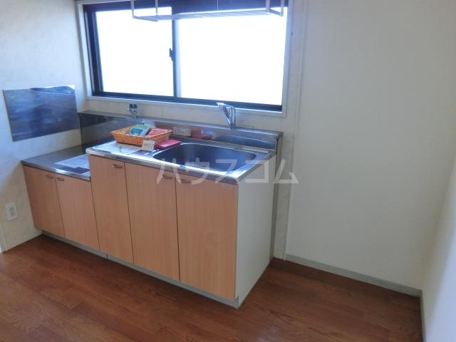 セジュールASA B棟 201号室のキッチン