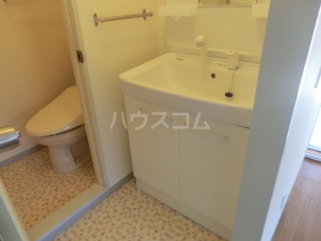 セジュールASA B棟 201号室の洗面所