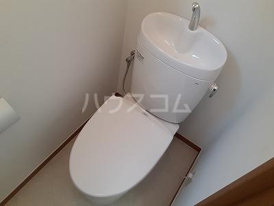 クレア 201号室のトイレ