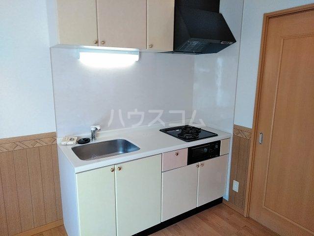 Luce Ueno 101号室のキッチン