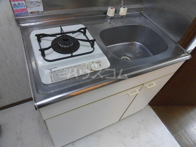 アクアコートⅡ 108号室のキッチン