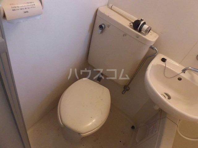 アクアコートⅡ 108号室のトイレ