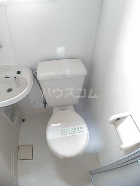 アクアコートⅡ 206号室のトイレ