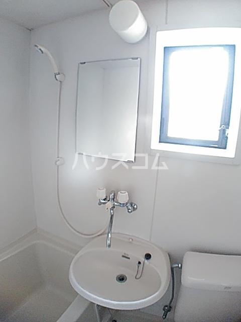 アクアコートⅡ 208号室の洗面所
