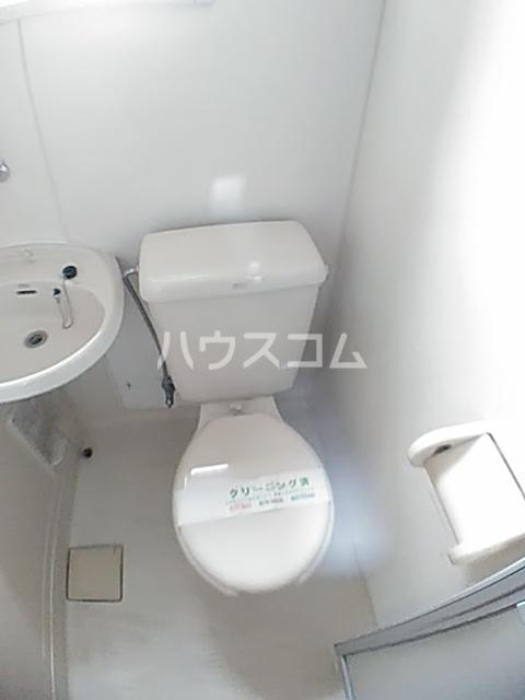 アクアコートⅡ 208号室のトイレ