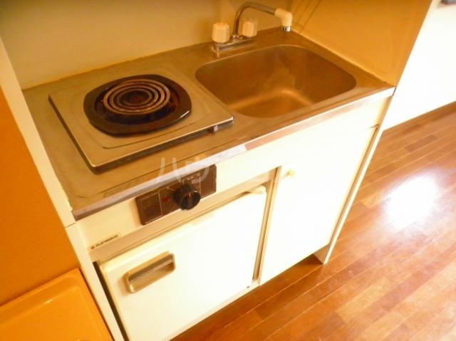 グランツ国立 101号室のキッチン