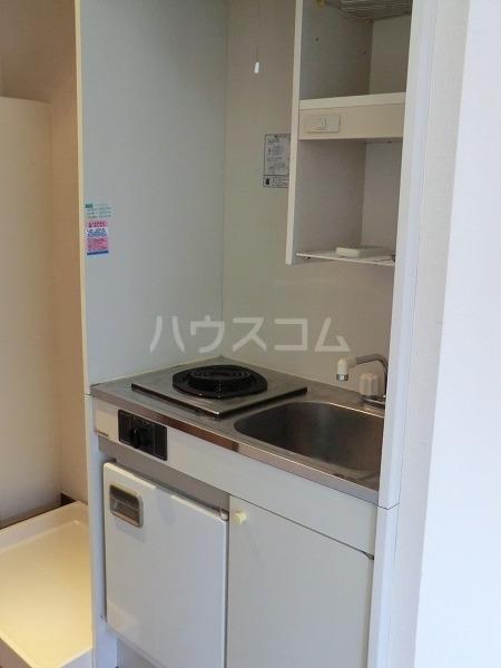 グランツ国立 201号室のキッチン