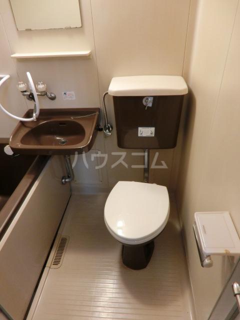 メゾンミズノ 302号室のトイレ