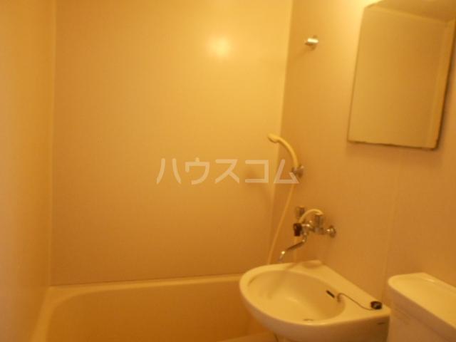 ハウス白ユリ 201号室の洗面所