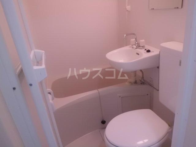 ソレイユ東向島 301号室のトイレ