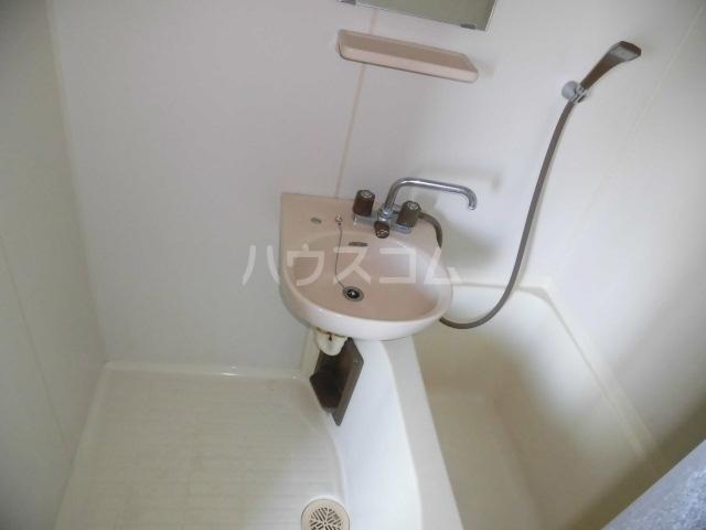 光ハイツ 307号室の洗面所