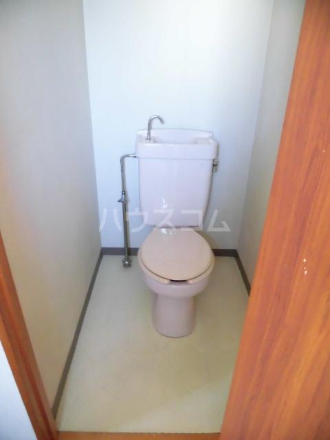 光ハイツ 307号室のトイレ