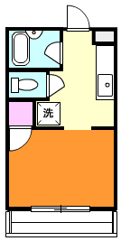アーティストヒルズA・111号室の間取り