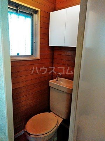 ローズマンション 207号室のトイレ