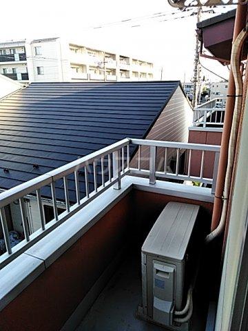 ローズマンション 207号室のバルコニー