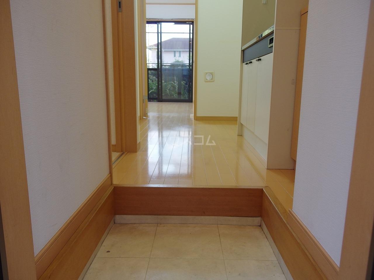 サントリナ 103号室の玄関