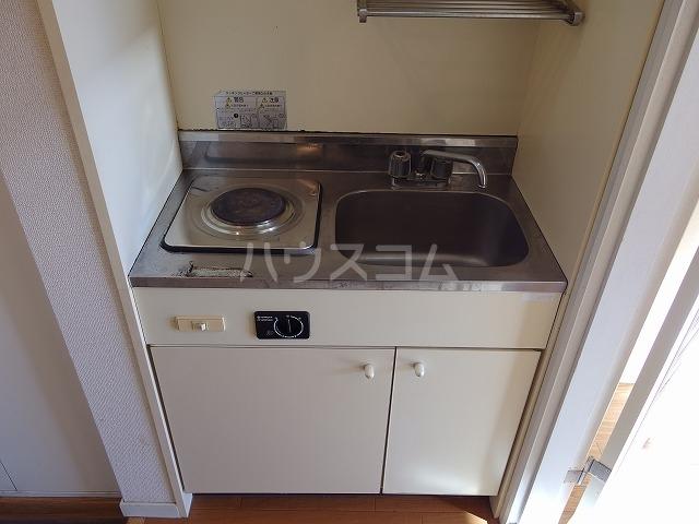 アルスA棟 203号室のキッチン