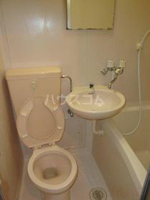 ガーデンハイツ橋本 105号室のトイレ