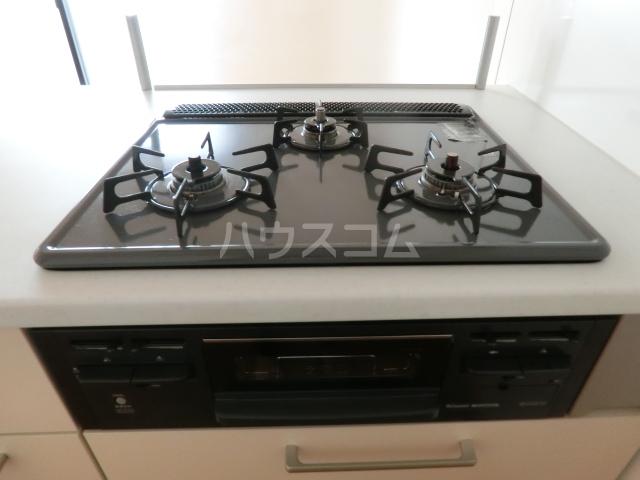 プログレスアサダ 202号室のキッチン