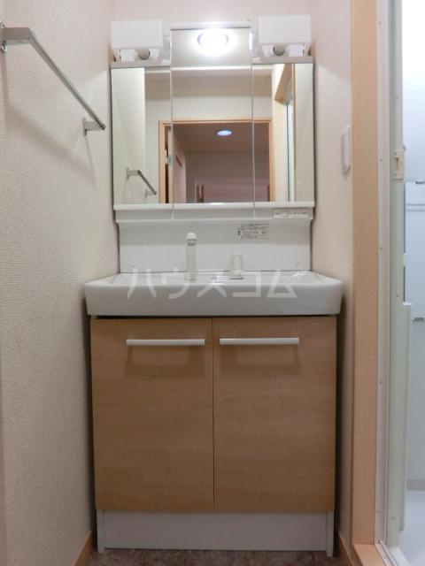 プログレスアサダ 202号室の洗面所