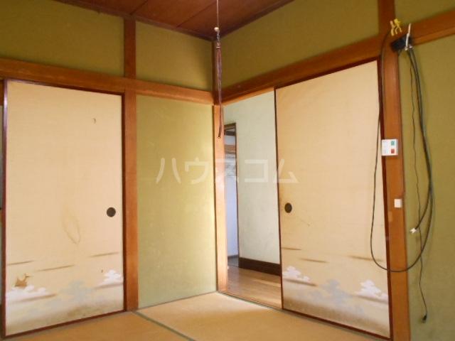老川貸家の居室