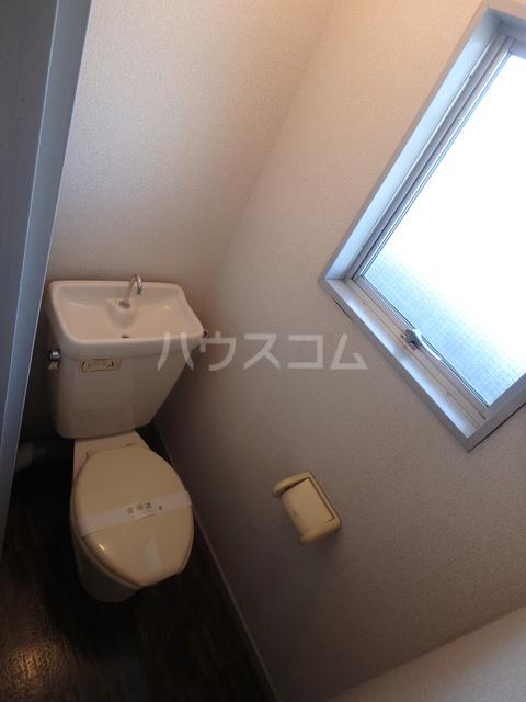 朔ハイツ 402号室のトイレ
