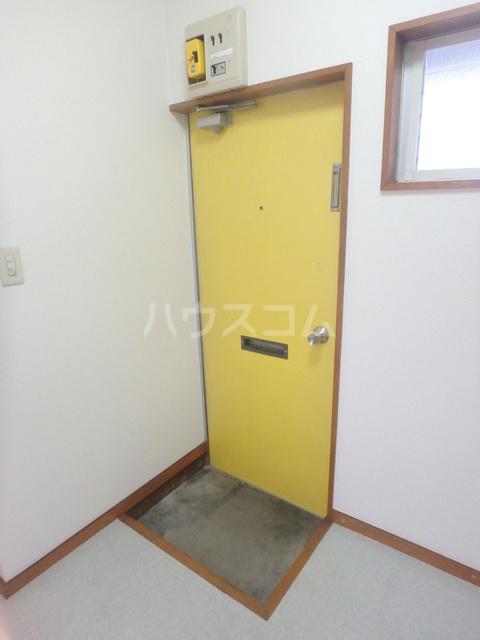 ハイツ下小出 205号室の玄関