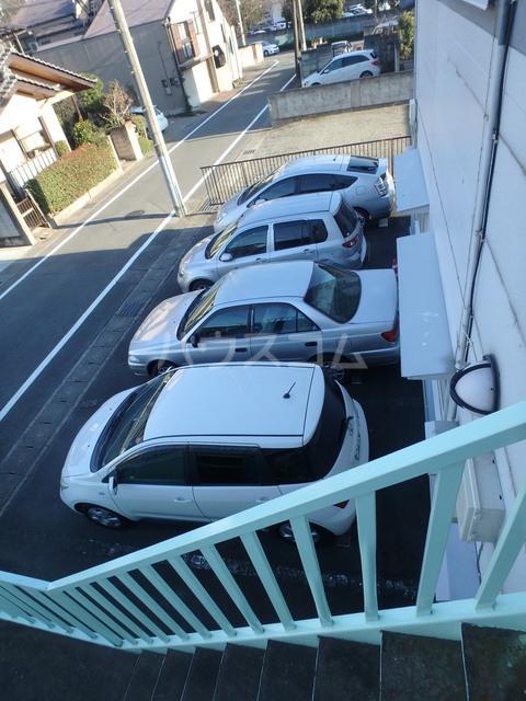 ハイツ下小出 205号室の駐車場