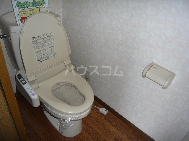 カーサ・ハナミズキ 202号室のトイレ