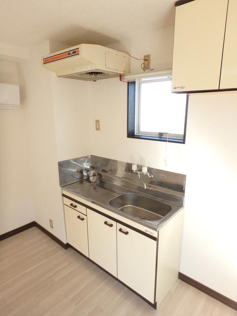 ジュネス北駅 201号室のキッチン