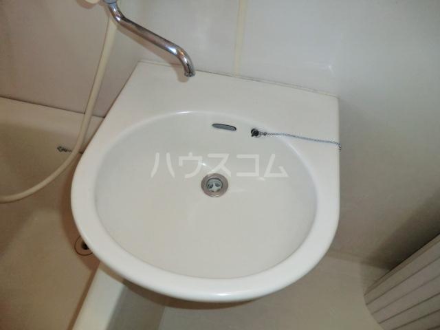 パーソナルハイツ 205号室の洗面所